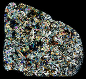 D'Orbigny Meteorite Thin Section