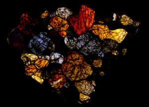 Itqiy Meteorite Thin Section