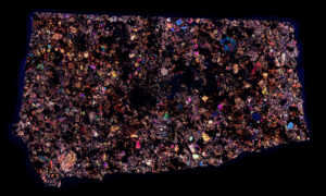 Limerick Meteorite Thin Section