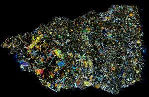 Pasamonte Meteorite Thin Section