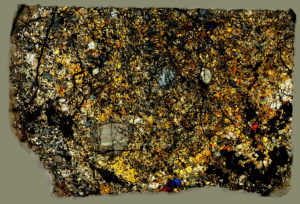 Bondoc Meteorite Thin Section