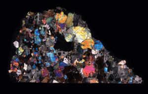 NWA 7325 Meteorite Thin Section