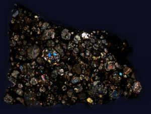 NWA 8276 Meteorite Thin Section