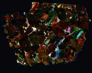 NWA 2737 Meteorite Thin Section