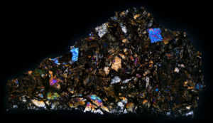 NWA 32 Meteorite Thin Section
