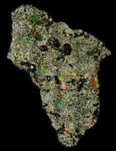 DaG 489 Meteorite Thin Section