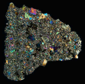 Tissint Meteorite Thin Section
