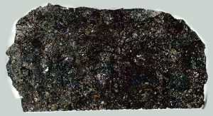 Ozerki Meteorite Thin Section